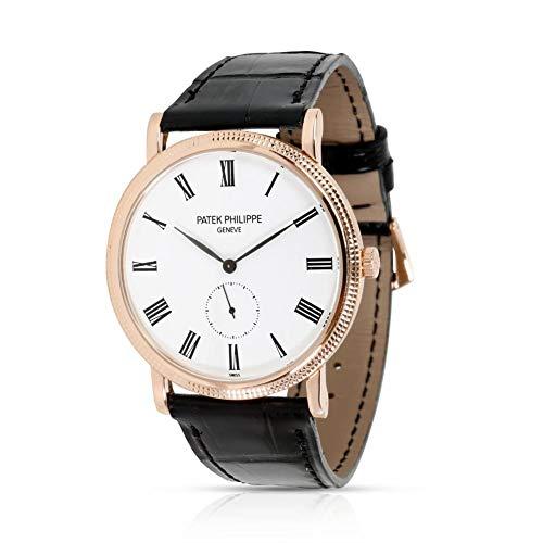 Patek Philippe Calatrava Mechanical-Hand-Wind Male Watch 5119R-001 (Certified Pre-Owned)
