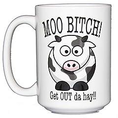 15oz white coffee mug. Dishwasher and microwave safe.