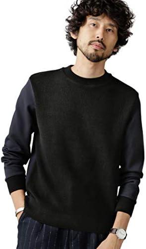[ナノユニバース] セーター Nano Brending クルーネック プルオーバー メンズ
