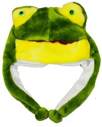 Frog Cartoon Animal (Frog_Cute Cartoon Animal Winter Hat Plush Warm Fluffy Soft Lovely - Unisex (US Seller))