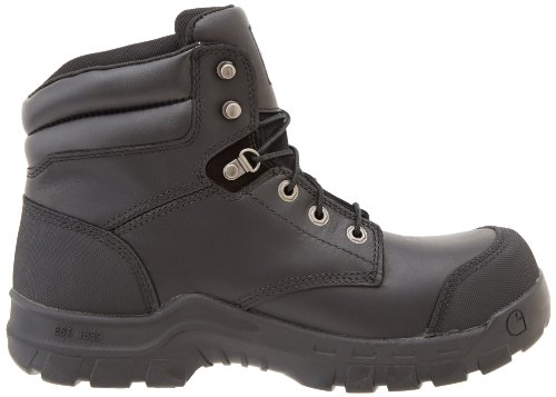 Carhartt Mens CMF6371 Rugged Flex Six Inch Waterproof Work Boot Black Oil Tanned GGyJCm1