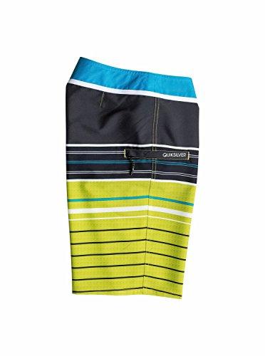 Quiksilver Big Boys' YG Stripe Boardshort, Sulphur Spring, 23