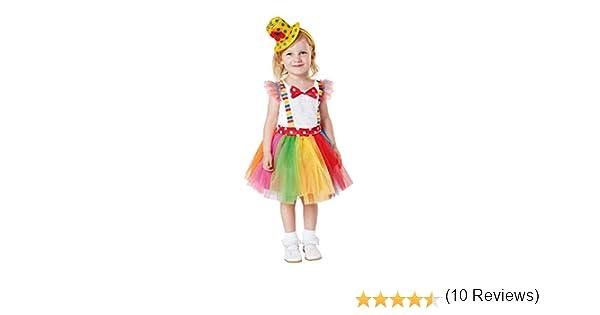 My Other Me Me-203198 Disfraz de payasita Tutu para niña, 1-2 años ...