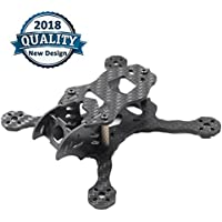 GEPRC X110 FPV Racing Drone Carbon Fiber Quadcopter Frame Micro Kit for Mini FPV Drone Quadcopter Frame Support 1106 1306 Brushless Motors by Crazepony