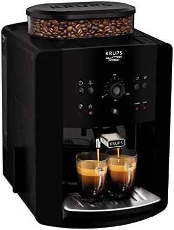 Krups EA8110 Cafetière autonome, 1,7L, moulin intégré, 1450W, Noir
