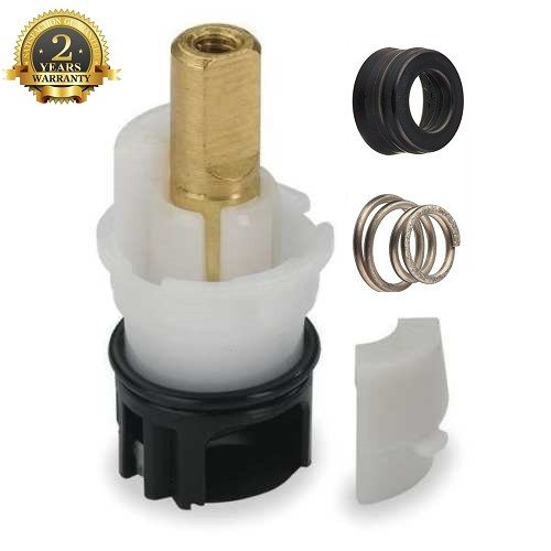 Replacement for Delta RP25513 / RP24096 + RP4993 Seat and Spring+RP24097 1/4-Inch Turn Stop Unit Repair Part