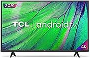 """Smart TV Android LED 50"""" 4K UHD TCL 50P615, 3 HDMI, 2 USB, Wi-Fi, Bluetooth e Controle Remoto com Comando por"""