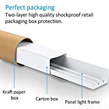 LEDMO 2X2FT Ceiling Frame Kit Aluminium Surface