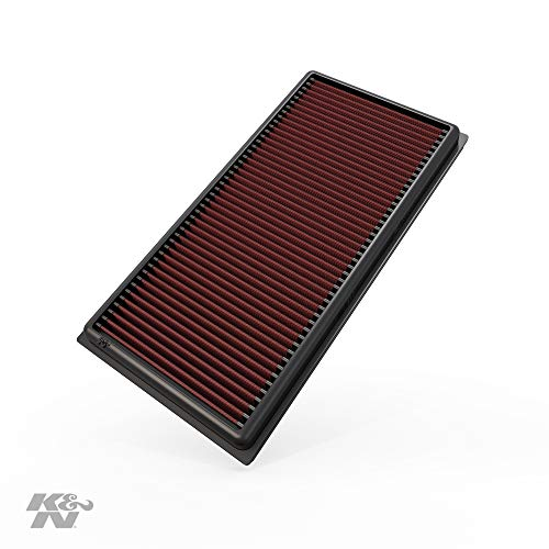 K&N engine air filter, washable and reusable:  2006-2015 Mercedes (C63 AMG, E63 AMG, CLS63 AMG, ML63 AMG, CLK63 AMG, CLS63 AMG, R63 AMG, S63 AMG) 33-2405