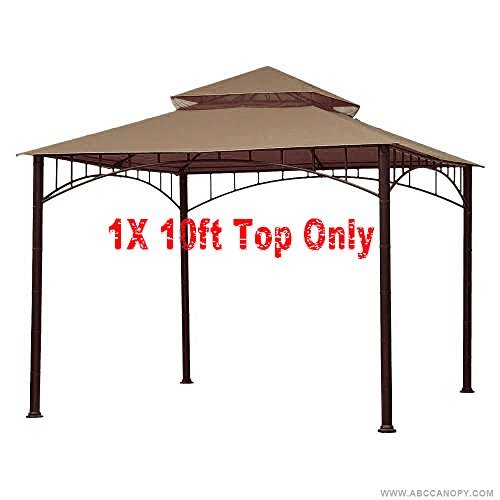 ABCCANOPY Replacement Canopy roof for Target Madaga Gazebo (brown)