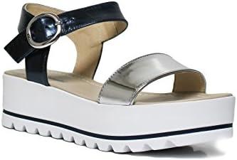Zwart Giardini P805870D 201 zilveren sandaal voor dames