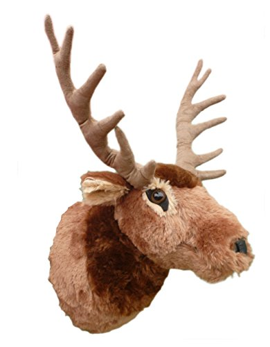 "Price comparison product image ADORE 15"" Teton the Elk Plush Stuffed Animal Walltoy Wall Mount"
