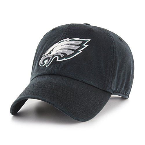 NFL Philadelphia Eagles Male NFL OTS Challenger Adjustable Hat, Black, One ()
