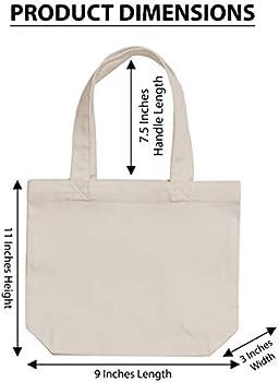 100/% Cotton Tote Bag Phone Wallet Keys Mask