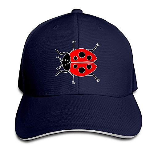 quanzhouxuhuixiefu Low Hat Baseball Unisex Cap Profile Ladybug U6qSnpUFxv