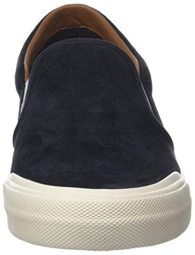 Sneaker Heritage Ginnastica On 403 Uomo Midnight Suede da Hilfiger Scarpe Tommy Blu Slip Basse BwXc5