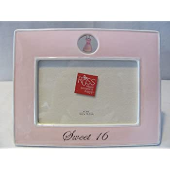this item russ sweet 16 picture frame 4 x 6