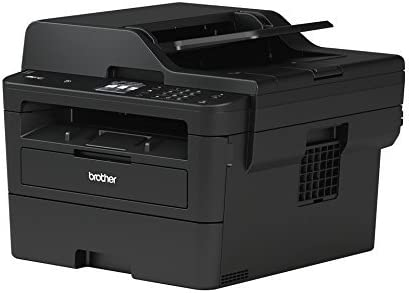 Brother MFC-L2750DW Compact 4-in-1 S/W multifunctioneel apparaat (34 pagina's/min.printen, scannen, kopiëren, faxen, A4, echt 1.200x1.200 dpi, full-duplex, 250 vellen papiercassette, USB 2.0)