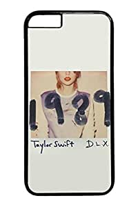 VUTTOO iPhone 6 Case, 6 Case - VUTTOO Scratch-Resistant Black Hard Case Bumper for iPhone 6 Taylor Swift 1989 Album Cover Highly Protective Hard Back Cover Case for iPhone 6 4.7 Inches by mcsharksby Maris's Diary