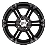ITP SS ALLOY SS212 Matte Black Wheel with Machined Finish (14x6''/4x156mm)