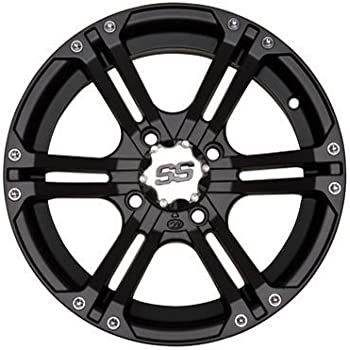 Amazon Com Itp Ss Alloy Ss212 Matte Black Wheel With Machined