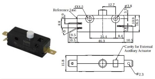 wiring limit switches in series