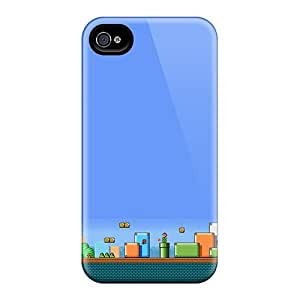 BsM33837qwzW Cases Skin Protector For Iphone 6 Super Mario Land With Nice Appearance