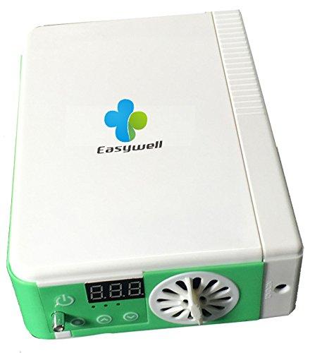 easywell fácil llevar concentrador de oxígeno máquina tiempo ...