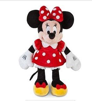 Amazon.com: Disney Minnie Mouse Plush Toy-red Polka Dot Dress ...
