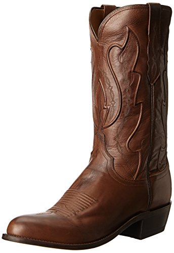 Image of Lucchese Bootmaker Men's Cole-tan Ranch Hand Riding Boot, 8 D US