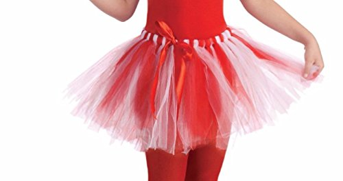 Candy Cane Tutu Halloween Christmas Child Costume Accessory (Halloween Costumes For Guys With Goatees)
