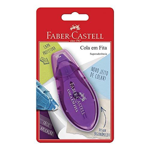 Cola em Fita Blister, Faber-Castell, SM/8510, Multicor