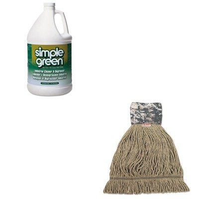 KITSPG13005CTUNS8200M - Value Kit - Unisan Patriot Looped End Wide Band Mop Head (UNS8200M) and Simple Green All-Purpose Industrial Degreaser/Cleaner (SPG13005CT) (Patriot End Looped)