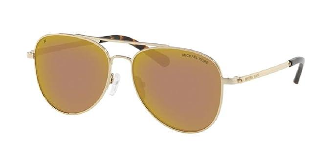 Amazon.com: Michael Kors MK1045 SAN DIEGO Aviator - Gafas de ...