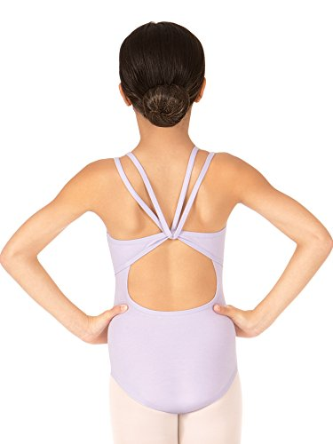 - Child Double Strap Camisole Dance Leotard TH5526CLAVL Lavender Large