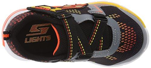 Black Niedrige Skechers Charcoal Orange Sneakers Boy 90550L BBLM 4RqRAZ