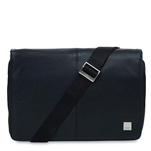 Knomo Luggage Men's Kinsale Laptop Messenger Bag, Black, One Size by Knomo