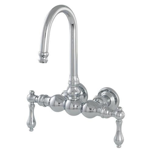 American Bath Factory F300D-CH 300 Series Bathtub Faucet - Chrome