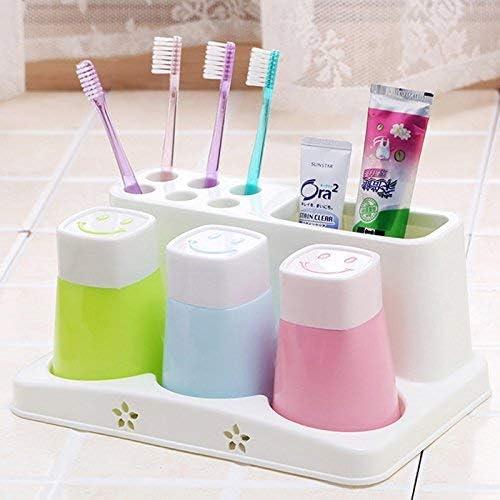 Creative Home pasta de dientes Rack caja de cepillo de dientes ...