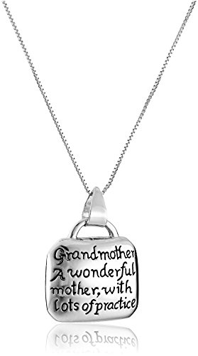 Sterling Grandmother Wonderful Practice Necklace product image