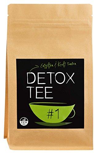 DETOX TEE   Die 28-Tage-Kur ✮ 100g ✮ Ideale Ergänzung zu Ihrer Diät-Ernährung   Natürlich Entgiften & Entschlacken mit Tee   Premium Qualität