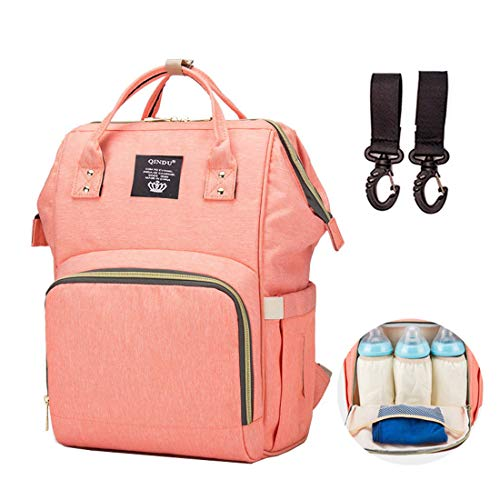 Diaper Bag Backpack Waterproof Large Capacity Insulation Travel Back Pack Nappy Bags Organizer, Multi-Function, Fashion and Durable