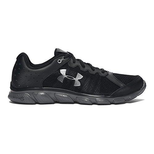 Under Armour Men's Micro G Assert 6 Running Cross-Trainer Shoe, Black, 11 D (Shoes Under Armour Sport Men)