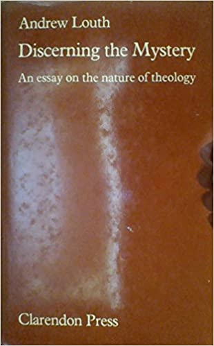 com discerning the mystery an essay on the nature of  com discerning the mystery an essay on the nature of theology 9780198266570 andrew louth books