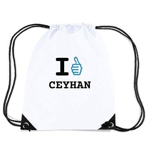 JOllify CEYHAN Turnbeutel Tasche GYM2910 Design: I like - Ich mag TbtKBoZ