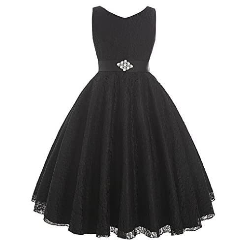 00fa9c79b96 GRACE KARIN Lace Flower Girl Dress V Neck Girls Pageant Wedding Party Ball  Gown