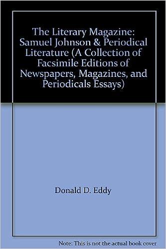 Amazon com: The Literary Magazine: Samuel Johnson