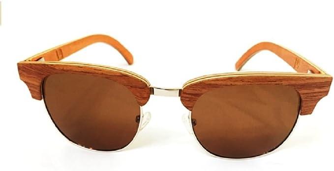 Vintage UV 400 Polarized Sunglasses Eye Glasses WOOD FRAME FOR WOMEN MEN