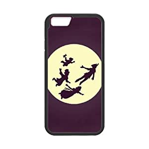 iPhone 6 4.7 Inch Cell Phone Case Black Peter Pan feu