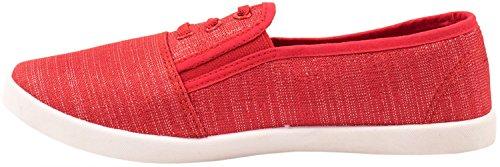 Elara - Zapatillas Mujer Rojo